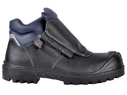 Bezpečnostná obuv pre zvárača s odľahčenou kompozitnou špičkou a planžetou proti prierazu SOLDER BIS UK S3 HRO SRC : TALIANSKÁ VÝROBA