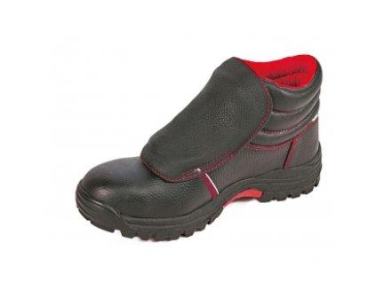 Bezpečnostná zváračská obuv s oceľovou špičkou a planžetou proti prierazu  STEELER WELDER ANKLE S3 HRO