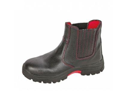 Bezpečnostná zlievárenská obuv s oceľovou špičkou a stielkou proti prierazu  STEELER FOUNDER ANKLE S3 HRO SRC