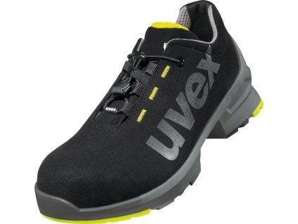 Moderná, športovo ladená pracovná obuv s odľahčenou bezpečnostnou  špičkou UVEX 8544 S2 SRC