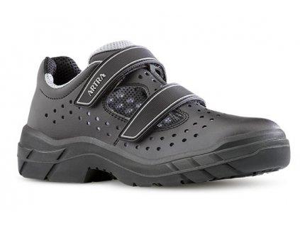 Bezpečnostné sandále s oceľovou špičkou  ARMON 905 6660 S1 SRC