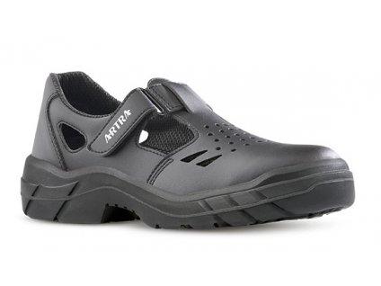 Kožené pracovné sandále bez oceľovej špičky ARMEN 900 6660 O1 FO SRC