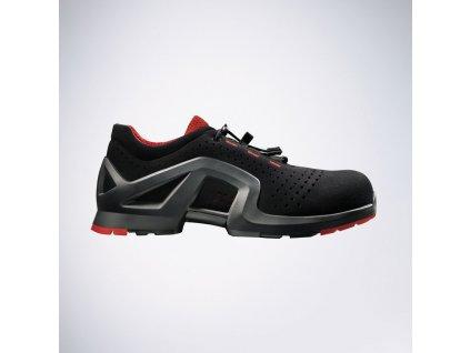 Moderná pracovná obuv UVEX s bezpečnostnou kompozitnou odľahčenou špičkou  8512 S1 SRC