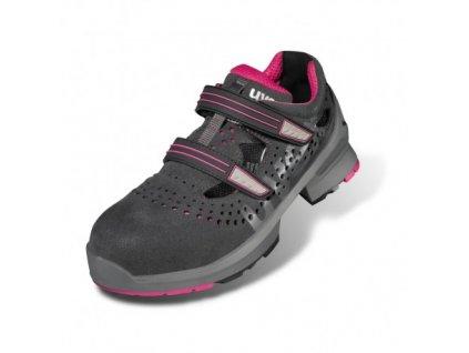 Dámske pracovné sandále S1 s bezpečnostnou špičkou a protišmykovou podrážkou UVEX  8560 S1 SRC Ladies