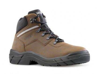Zateplená pracovná obuv bez oceľovej špičky a protišmykovou podrážkou ARLES 947 4660 O2 CI FO SRC