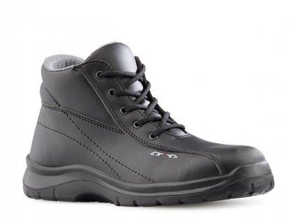 Čierna bezpečnostná obuv s oceľovou špičkou ARTRA - ARZAWA 641 6660 S2 SRC