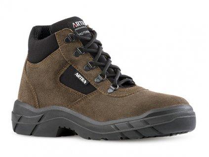 Pracovná obuv s oceľovou čpičkou od výrobcu ARTRA v modelovom prevedení ARCHA 942 4360 S1 SRC