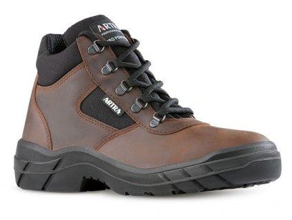 Členková pracovná obuv bez oceľovej špičky od výrobcu ARTRA v modelovom prevedení ARCHA 942 4660 O2 FO SRC