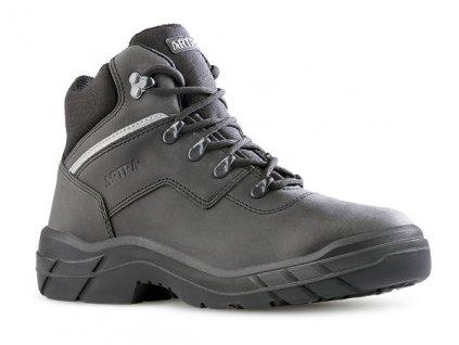 Pracovná členková obuv s oceľovou špičkou ARLES 947 6860 S3 SRC
