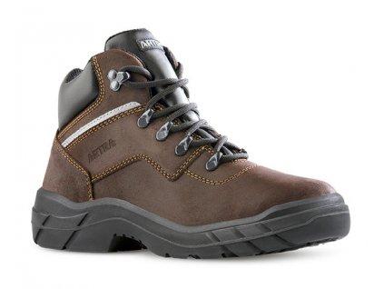 Pracovná členková obuv bez oceľovej špičky  ARLES 947 4560 O2 FO SRC