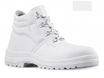Biela bezpečnostná členková obuv S2 od výrobcu ARTRA v modele ARAUKAN  9408 1010 S2 SRC
