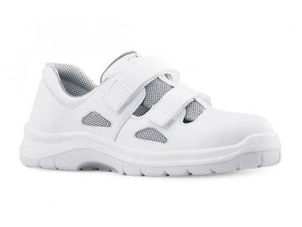 Biele pracovné sandále bez oceľovej špičky  ARIES 8006 1010 O1 FO SRC