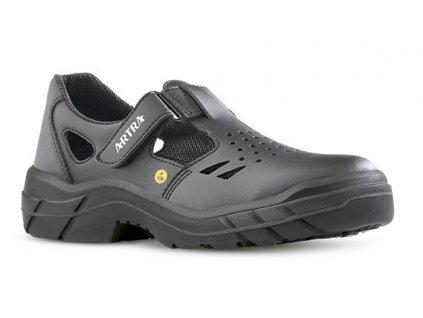 Pracovné ESD sandále s oceľovou špičkou ARMEN  900 6660 S1 SRC ESD
