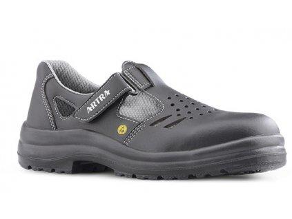Bezpečnostné ESD sandále s oceľovou špičkou  ARMEN 9008 6660 S1 ESD SRC