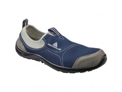Nízka bezpečnostná obuv MIAMI S1P MODRÁ DELTA PLUS e9cf8767834