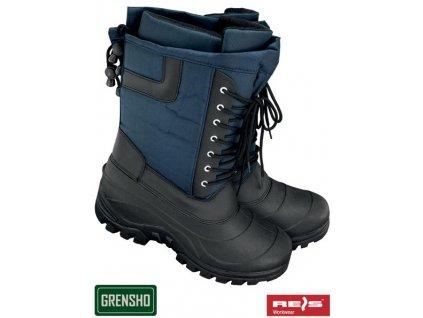 RW00-BSNOW-YUKON Zateplená obuv