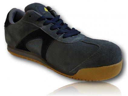 Pracovná obuv D SPIRIT S1P DELTA PLUS predný pravý bočný detailný pohľad