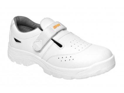 ZS - BNN WHITE: Sandále S1  Z31081
