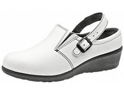 pracovné sandale susan white