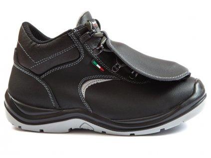 Bezpečnostná zváračská obuv IRON RM S3 AC068DRM