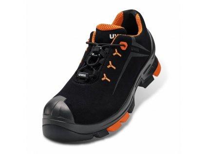 Moderná bezpečnostná obuv S3 s bezpečnostnou špičkou a planžetou proti prierazu podrážky UVEX 2 S3 SRC shoe 65082
