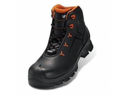 čelnková bezpečnostná obuv UVEX 2 S3 HI HRO SRC lace up boot