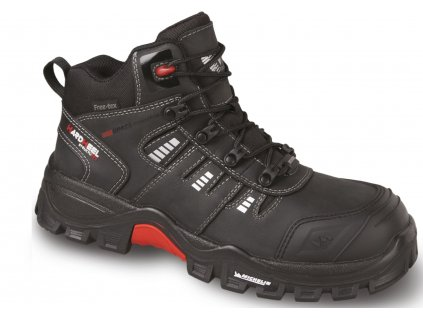 41d2157e9 Členková pracovná obuv bez kovovej špičky s membránou FREETEX a MICHELIN  podrážkou VM BUFFALO 7130-O2