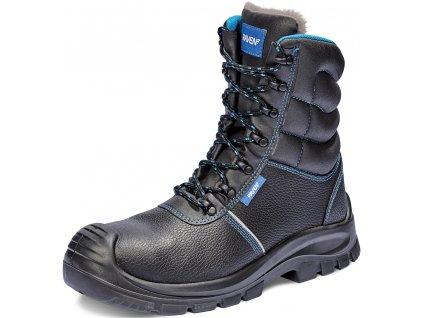 zateplená pracovná obuv