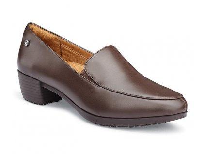 hnedá dámska pracovná obuv ENVY III Brown