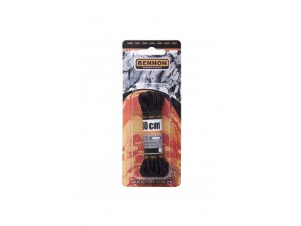 Šnúrky / laces: Okrúhle/round - Black 90 cm