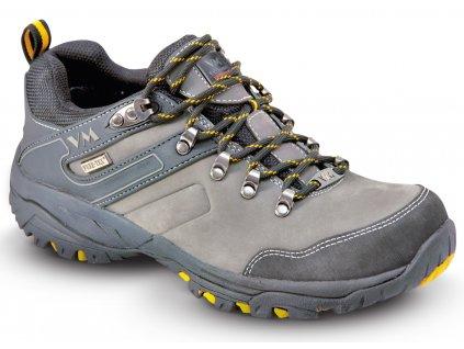 1b6523236 Kožená outdoorová obuv v kombinácii s textilom a membránou 4315-O2 HAVANA