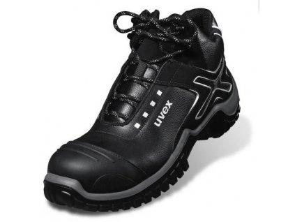 Bezpečnostná členková obuv S2 s odľahčenou špičkou a protišmykovou podrážkou UVEX XENOVA NRJ 6940 S2 SRC