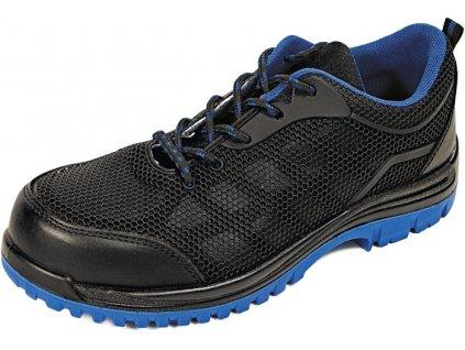 Bezpečnostná obuv Issey low S1P SRC v modrej farbe