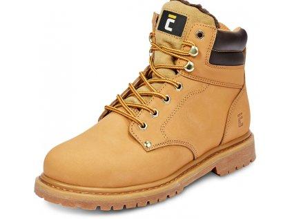 pracovná obuv farmárka pieskovej farby CERVA