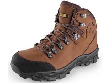 Členková voľnočasová obuv GOTEX Mont Blanc