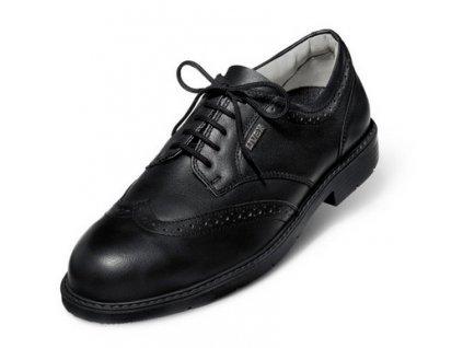 Elegantná pracovná obuv do kancelárie s bezpečnostnou špičkou UVEX 9541.9 S1 SRA