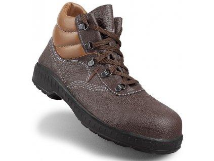 bezpečnostná obuv HECKEL MACSTOPAC BROWN