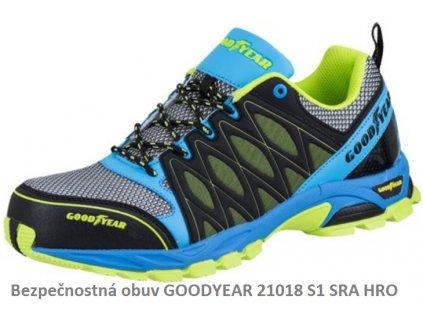 Bezpečnostná obuv GOOD YEAR 21018 S1 SRA HRO