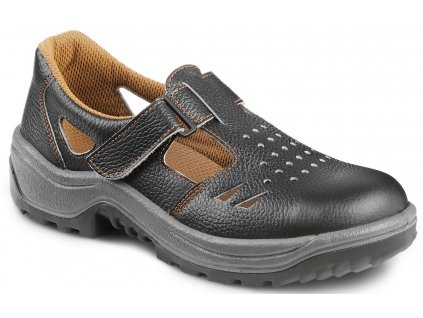 Pracovné sandále s oceľovou špičkou a oceľovou stielkou  ARMEN 900 6060 S1 P SRC