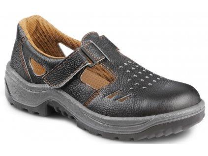 Pracovné sandále s oceľovou špičkou  ARMEN 900 6060 CLIP S1