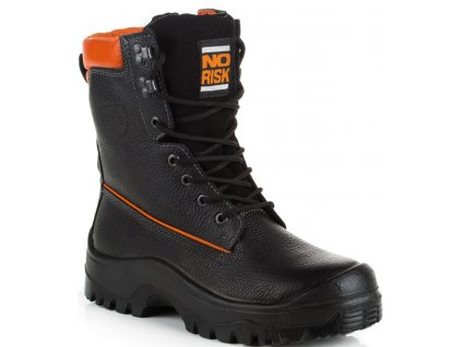 Kvalitná pilčícka obuv NoRisk Forst S3 0613 39113 v triede porezu 1