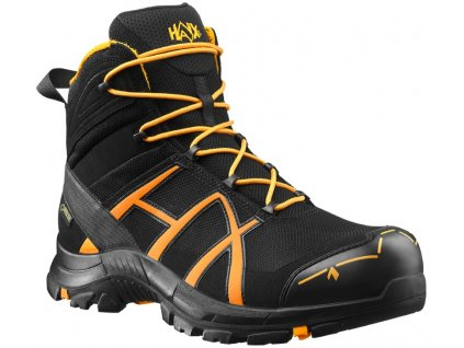 HAIX BLACK EAGLE SAFETY 40 MID BLACK ORANGE