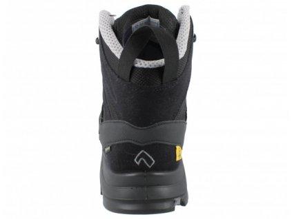 Bezpečnostná obuv ESD vysokej kvality s odľahčenou kompozitnou špičkou HAIX BLACK EAGLE SAFETY 40 MID BLACK/SILVER