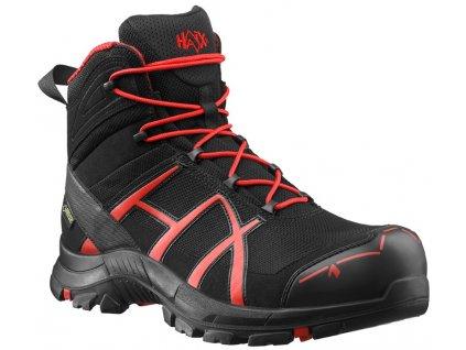 Bezpečnostná členková obuv HAIX Black Red Safety 40 mid