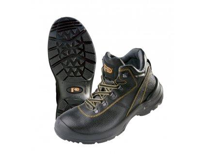 Bezpečnostná obuv S3 s oceľovou špičkou STRONG PROFESSIONAL ORSETTO S3 SRC