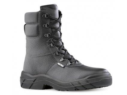 Vysoká kožená pracovná obuv bez oceľovej špičky  ARIZONA 961 6060 O2 CI FO SRC