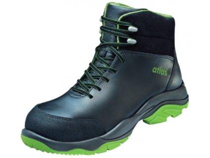 Vyššia kožená bezpečnostná obuv ATLAS Agrar SL 855 XP green S3