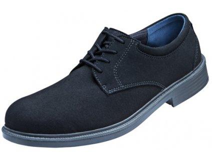Bezpečnostná obuv poltopánky s oceľovou špičkou S1 ESD ATLAS CX 505 black ESD