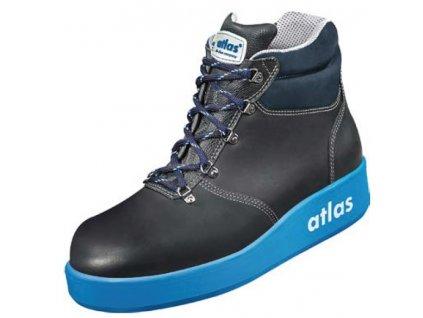 Moderná bezpečnostná obuv ATLAS Thermo Tec 700 blue S2
