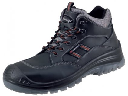 členková kožená bezpečnostná obuv S3 s plastovou špičkou CanadianLine Timo